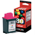 Original Lexmark 80 Tri-Colour Ink Cartridge (012A1980E)