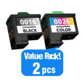 A Remanufactured Lexmark 16/26 High Capacity Twin Pack