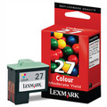 Original Lexmark 27 Light User Tri-Colour Ink Cartridge (010NX227E)