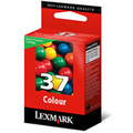 Original Lexmark 37 colour ink cartridge - 018C2140E