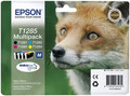 Genuine 4 Colour Epson T1285 Ink Cartridge Multipack - (C13T12854010) Fox