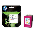 Genuine High Capacity Tri-Colour HP 301XL Ink Cartridge - (CH564EE)