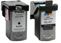 (A) Remanufactured PG-40 & CL-41 Twin Pack (2 inks)