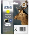 Genuine Extra High Capacity Yellow Epson T1304 Ink Cartridge - (C13T13044010)