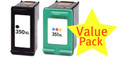 Compatible HP 350XL & HP 351XL Twin Pack
