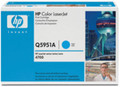 Genuine Cyan HP Q5951A Toner Cartridge - (Q5951A)