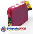 Compatible High Capacity Magenta T1293 Ink Cartridge - (C13T12934010)