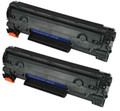 Compatible Black HP 78A Toner Cartridge TWIN PACK