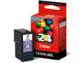 LEXMARK NO 24 COLOUR INK CARTRIDGE
