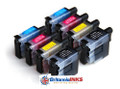Compatible Brother LC900 Double Multi Pack (8 inks)