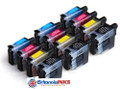 (A) Compatible Brother LC900 Triple Multi Pack (12 inks)