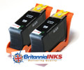 Compatible High Capacity Black  Lexmark 100XL Ink Cartridge Twin (2 inks)