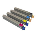 Set of 4 Compatible Toner Cartridge for OKI C831 C841 Printers