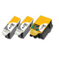 2 Black & 1 Colour Ink Cartridges Replace 30 For Kodak ESP C100 C110 C115 C300 C310
