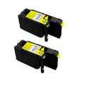 2 Yellow Toner Cartridge For Epson C1700 C1750N C1750W CX17 CX17NF CX17WF