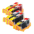 G&G Compatible PGI-525 CLI-526 Ink For Canon PIXMA MX885 IP4850 IP4950 (5-Pack)