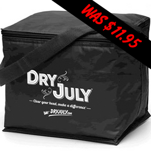 Dry July - 6 Pack Cooler Bag