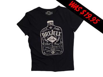 Mooks Mens Dry July T-Shirt - Black