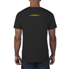 Black T-Shirt - Back