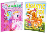 Coloring book for boy or girl