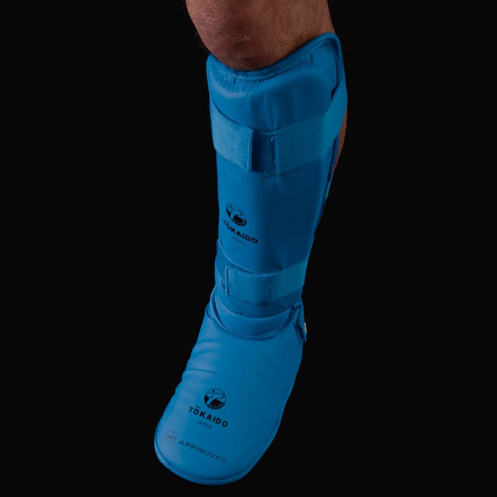 Tokaido WKF Shin and Foot Protector (Blue)