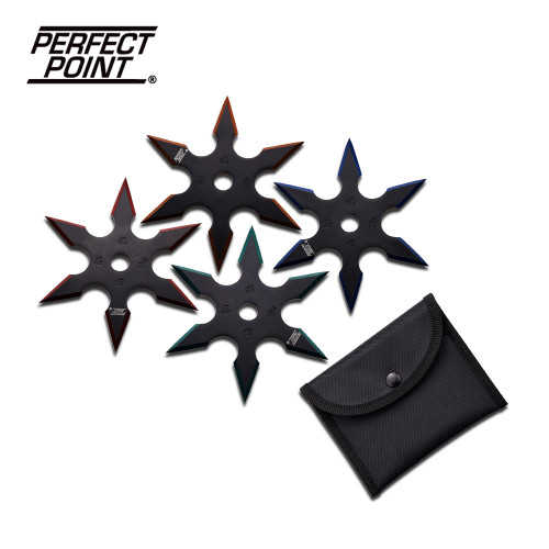 "4"" Ninja Throwing Star 6pt."