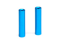 ALLOY POSTS, 24MM LIGHT BLUE (2)