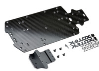 MINI 8IGHT-T TRUGGY CARBON BOTTOM PLATE SET