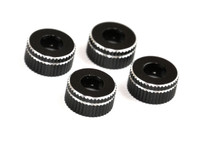AE 12MM LOWER SHOCK CAPS (4PCS)  B6, B5