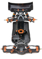 D413 PRO'17 CHASSIS SET, 7075 w/ delrin side plates