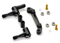 ZX-6.6 HD STEERING SET, 7075 with rack, cranks, spacers and bearings