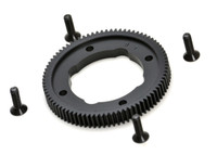 B64 HEAVY DUTY 81T SPUR GEAR, machined pom