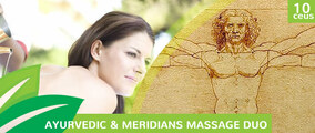 Ayurvedic & Meridians Massage Duo