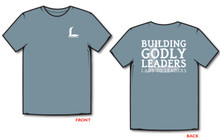 "Blue ""Building Godly Leaders"" L2L Logo T-Shirt"