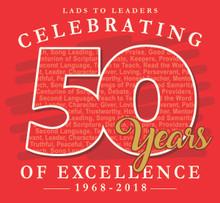 L2L 50th Anniversary T-Shirt