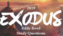 2019 Bible Bowl Bundle - Exodus