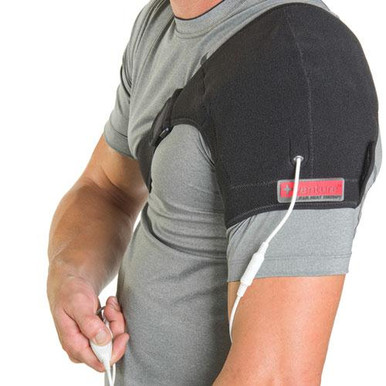 +Venture KB-1240 Plug-in Infrared Heat Therapy Shoulder Wrap
