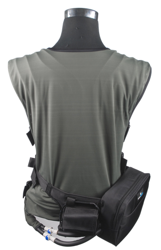Circulating Cold Water cooling vest with waist pack