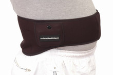 Rechargeable Battery Heated Waist Straps, Torso Heaters.