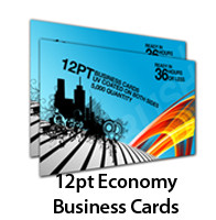 12pt Econonmy Business Cards