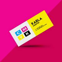 Slim Cut Business Cards UV