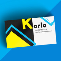 Matte/Dull Finish Business Cards