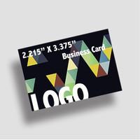 16PT 2.125 x 3.375 Business Cards