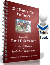 2017 HorseStreet Par Times (Hard Copy)