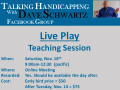Live Play Teaching Session
