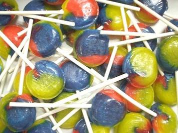 Mega Tutti Frutti Lollies x 10