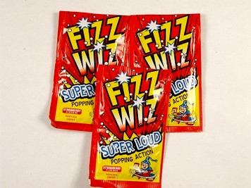Fizz Wizz Popping Candy x 4