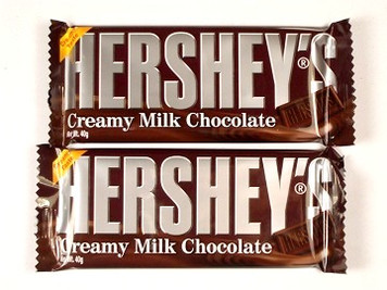 Hershey Milk Chocolate Bars x 2
