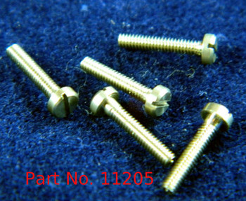 "Machine Screw Pan Head thread M1.4 & 140 UNM ""Shank length 5/16"" head diameter 2.5mm, OAL 8.9mm material Stainless Steel # 303, price for 100 pieces, finish color silver Part is a modified NAS-722-140-320"