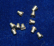 "Machine Screw special, Short head, thread M3.0 pitch .35mm (fine pitch) Head diameter 3.0mm, Length (shank) 1.8mm / 0.071"" max OAL 3.5mm material Stainless steel #303, price for 10 count bag, finish color silver and Polished  Screw made on precision screw machines for use in dental hand piece."